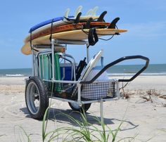 Multifunction Beach Cart