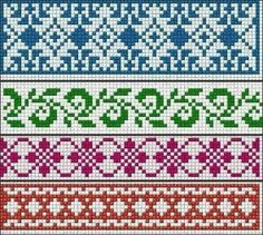 Ideas knitting charts fair isle cross stitch Ideas knitting charts fair isle cross stitch Always wanted to figure out how to knit, however unclear wher. Cross Stitch Borders, Cross Stitch Charts, Cross Stitching, Cross Stitch Embroidery, Cross Stitch Patterns, Fair Isle Knitting Patterns, Knitting Charts, Loom Patterns, Knitting Stitches