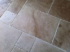 French Pattern Travertine Tiling