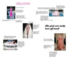"""""""Pink Power"""" by kaitlinlodge on Polyvore featuring Jennifer Lopez"""