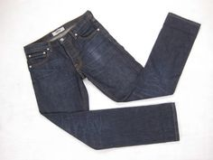O NWT 80/'s Lee Riders Men/'s Jean Regular Fit Straight Leg Dark Indigo Jeans USA