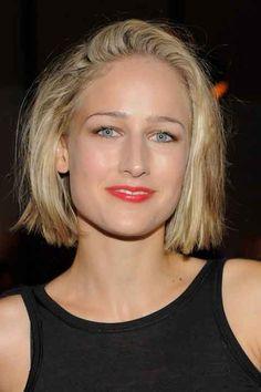 Leelee Sobieski Short Wavy Cut Hairstyles