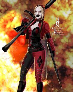 Batgirl, Catwoman, Supergirl, Margot Robbie Harley Quinn, Joker And Harley Quinn, Dc Comics Characters, Dc Comics Art, Cute Anime Character, Comic Character