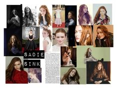"""Sadie Sink xxxx"" by teymac456 ❤ liked on Polyvore featuring New Kid"