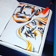face 2 face. rotuladores