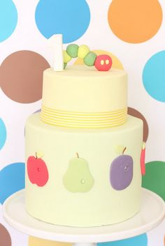 Everything from Hello Naomi is magical! This Very Hungry Caterpillar party is no exception!