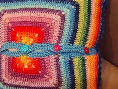 """Capa para Almofada """"Rainbow"""""""