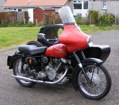 Panther M100 and Watsonian Sidecar Combination