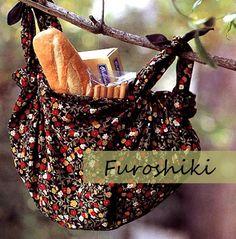 Furoshiki shopping