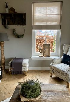 Woonkamer landelijk klassiek French Chic, Windows, Curtains, Living Room, Storage, Interior, Inspiration, Furniture, Home Decor
