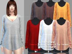 Sweater X Fullbody, Sweater Fullbody / Top Version for The Sims 4 - Modern Los Sims 4 Mods, Sims 4 Game Mods, Sims 4 Body Mods, Sims 3 Cc Clothes, Sims 4 Clothing, Sims 4 Tattoos, Sims 4 Anime, The Sims 4 Packs, Vetements Clothing