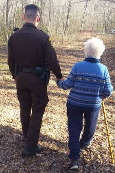 This Story About Police Officers Helping a Woman With Dementia Will Warm Your Heart