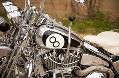 8Ball Harley softail springer