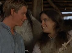 Jim and Jessica, the Man from Snowy River Man From Snowy River, Horse Movies, Mcleod's Daughters, Fantasy Movies, Period Dramas, Movies And Tv Shows, The Man, Movie Tv, Fangirl