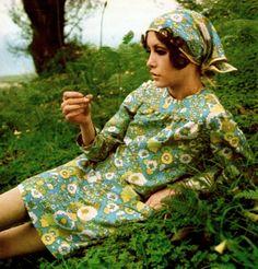 Cathee Dahmen by David Bailey 1960s