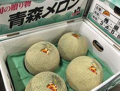 青果物の流通  ソーシャルメディアアグリ「地場活性化」のために: 青森県産メロン入荷終了