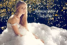 """""""The first thing I did when I sold my book was buy a new wedding ring for my wife and asked her to marry me all over again.""""  - Nicholas Sparks, The Author of A Walk to Remember    """"Cloud of Bliss"""" Gown www.JESSICACINDY.com"""