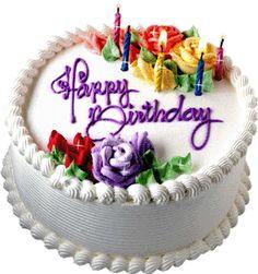 animated birthday cake