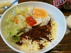 Taco-Rice  one of my fav Okinawan food :)