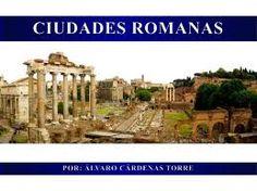 Resultado de imagen de la ciudad romana