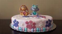 Skye and Everest cake