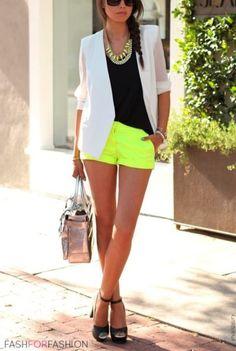 Neon High Waisted Shorts on Pinterest #0: 7e8630b b175a7639f84e86b6d26