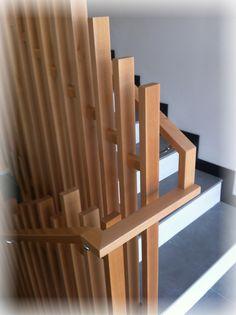 barandilla madera diferente moderna