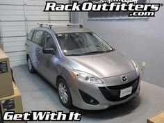 Rack Outfitters - Mazda 5 Thule Rapid Podium AeroBlade Base Roof Rack, $381.85 (http://www.rackoutfitters.com/mazda-5-thule-rapid-podium-aeroblade-base-roof-rack/)