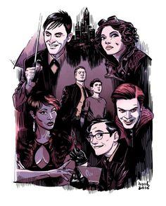 Gotham Season 2 - David M. Buisán