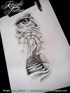 200 photos de tatouages de bras féminins pour inspiration - Photos et tatouages  - Designs de tatouage de fleurs - Bildergebnis für Kompassskizzen-Tattoo-Designs # tatouages - Clock Tattoo Design, Sketch Tattoo Design, Tattoo Sketches, Tattoo Drawings, Drawing Sketches, Watch Tattoos, Time Tattoos, Body Art Tattoos, Sleeve Tattoos