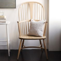I WANT one of these, Ercol Chairmakers chair - LOVE the rocking version even more!