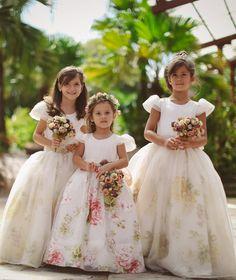 As novas tendências para daminhas de honra - Portal iCasei Casamentos