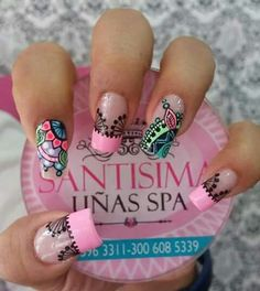 Nails, Beauty, Finger Nails, Classy Nails, Decorations, Floral Nail Art, Love Nails, Ongles, Beauty Illustration
