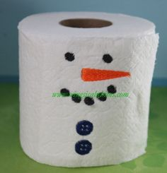 Toilet Paper Saying #49 Single Design Machine Embroidery File  Toilet Paper Sayings Pictures