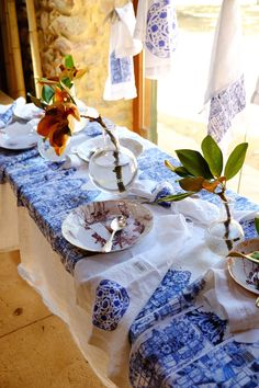 Summer time at Babylonstoren - Lanalou Style Mood Board Interior, Farm Shop, Blue And White China, Something Blue, Delft, My Happy Place, Summer Time, South Africa, Beautiful Homes
