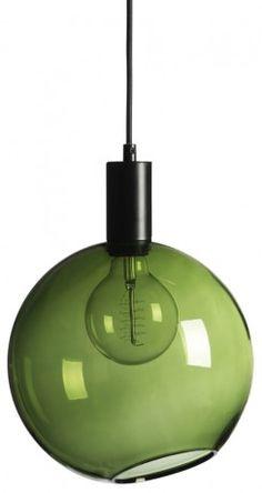 906,116 Hollie ceiling light green glass