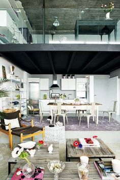not so original ( all cool lofts have become to look the same), but still will move in without hesitating....