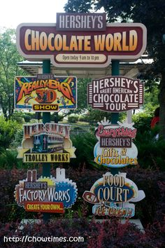 Bethany Children's Home Cottage Day Trip Idea: Hershey chocolate world