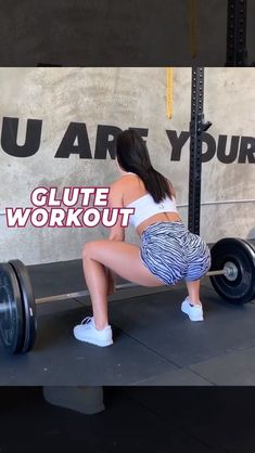 Amazing Glute workout with Booty Bands. Achieve weight loss and build muscle with these healthy glute workouts for women. Tone, Round and Enlarge Your Glutes with This workout. Glute Workouts, Easy Workouts, At Home Workouts, Exercises, Bum Workout, Workout Challenge, Physical Fitness, Glutes, Workout Videos