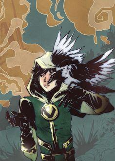 Illustration art Thor loki Kid Loki Journey Into Mystery ikol Kid!Loki fanart: marvel joannaestep joanna estep