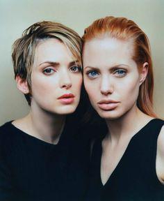 DANGEROUS BEAUTIES: Winona Ryder& Angelina Jolie, Premiere Magazine 1999