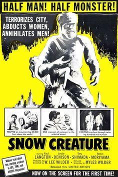 Snow Creature #2 - 1954 - Movie Poster