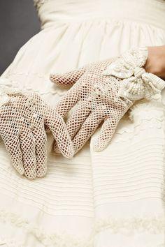 Crochet gloves