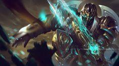Fanart Shadow Templar Zed #Digitalart #Fanart #Lol #Ninja #Shadow #Templar #Zed