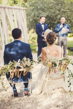 I think I've discovered my happy place thanks to these gorgeous photos by Anne-Claire Brun. She captured this rustic, romantic wedding, held at Domaine de Blanche Fleur in the south of France, where Les Mignonneries, the Bride's own company, shined