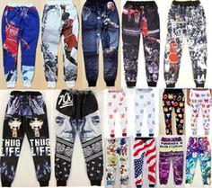 Wholesale Newest Fashion Emoji Jogger Men Pants Sport Black Jogging Cartoon Pants Mens Harem Sweatpants Trousers jordan joggers