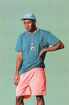 Tyler, the Creator (Golf Wang F/W by Julian Berman Streetwear, Golf Fashion, Mens Fashion, Fashion 2018, Tyler The Creator Wallpaper, Mode Hip Hop, Nike Air Force 1, Modelos Fashion, Odd Future
