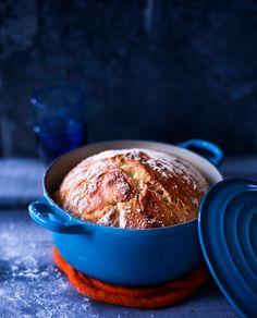 pataleipä / bread in pot (kotivinkki) I Love Food, Good Food, Yummy Food, Baking Recipes, Dessert Recipes, Bread Recipes, Desserts, Sweet And Salty, Easy Cooking