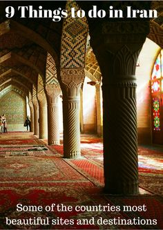 9 things to do in Iran