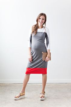 Beautiful, modern, everyday dress. Unbelievably comfortable, machine washable stretch-jersey and virtually indestructible! (Via www.sonnetjames.com)